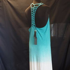 BUFFALO-DB	Vintage Look-Teal/White Sundress